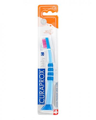 Baby Zahnbürste blau-pink